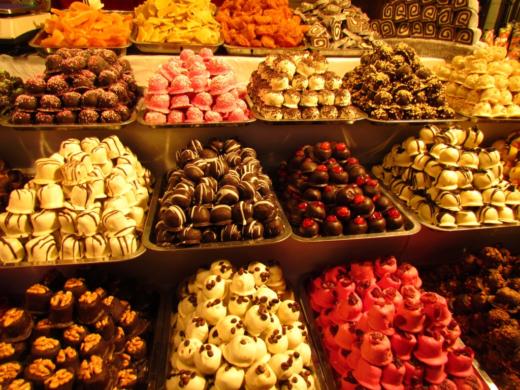 christmas market sweets
