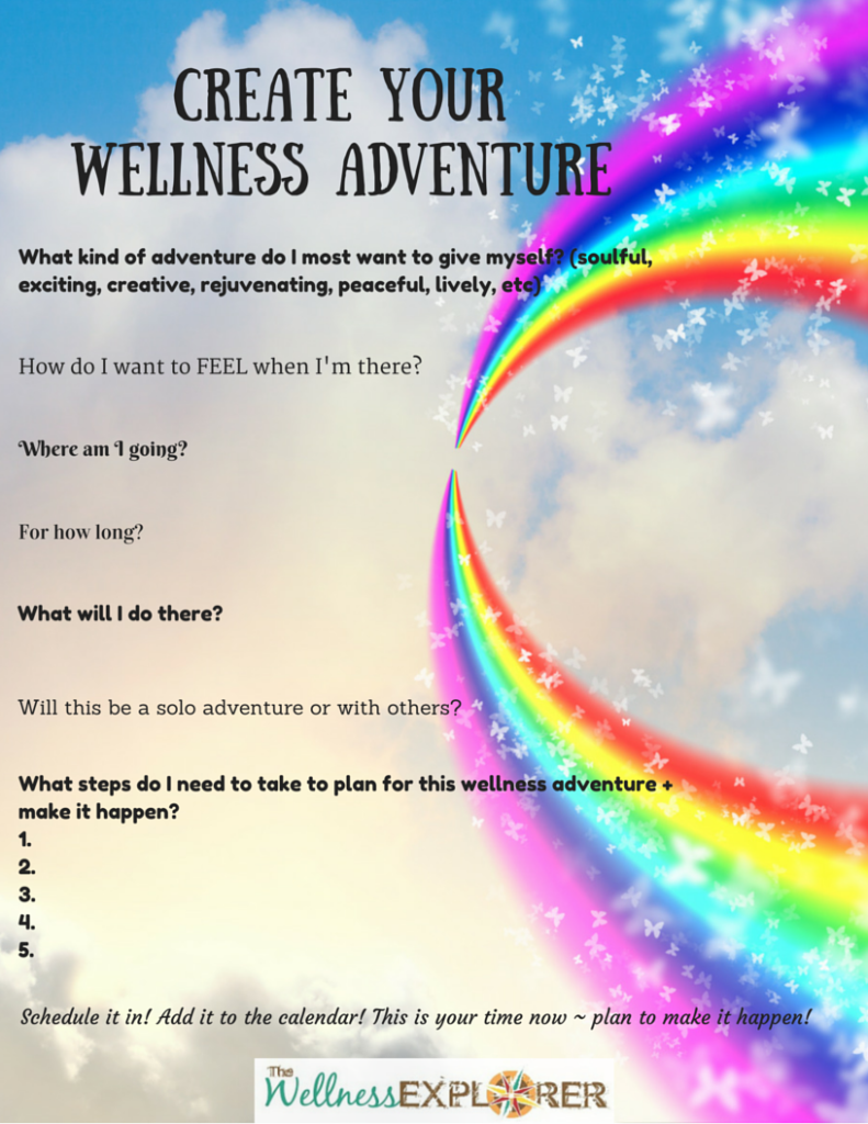 FREE goodies created just for you – Wellness Worksheet
