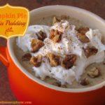 Creamy Pumpkin Pie Chia Pudding