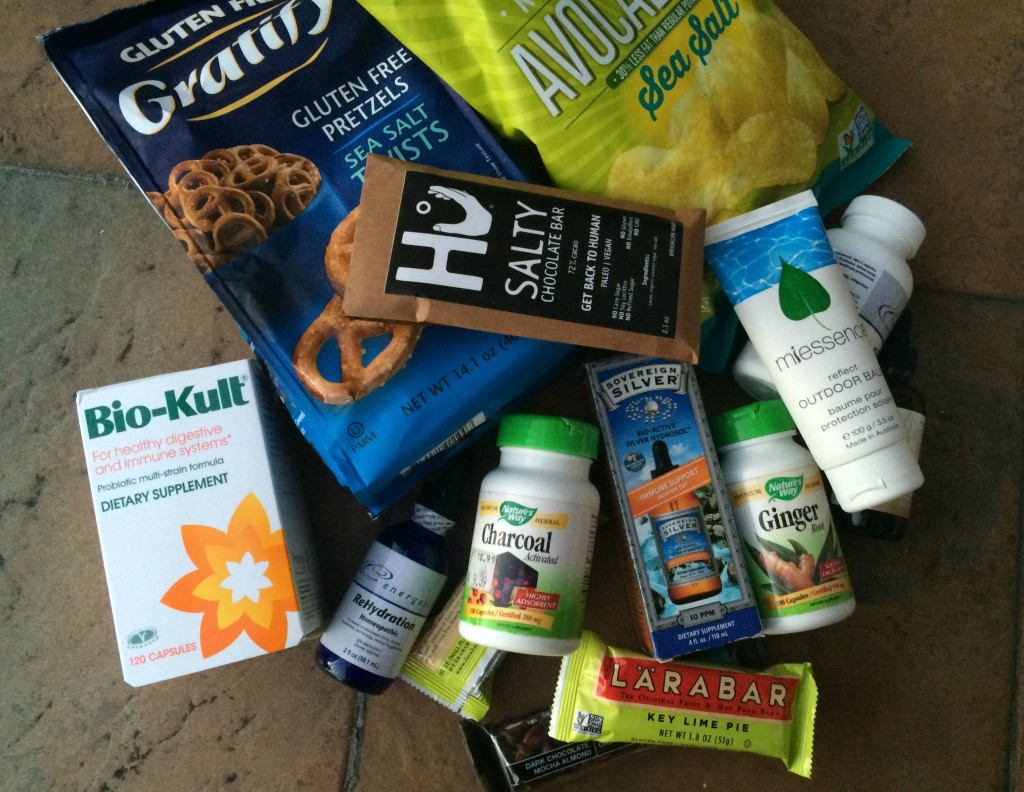 My wellness travel packing list