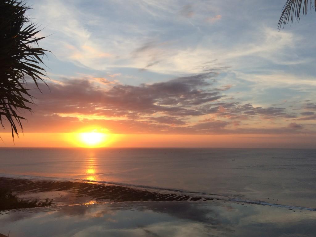 epic bali sunsets