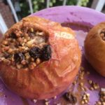 Stuffed apple crunch ~ (grain-free, gluten-free)