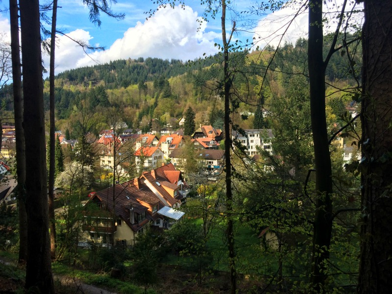 Traveling through the Black Forest, Freiburg