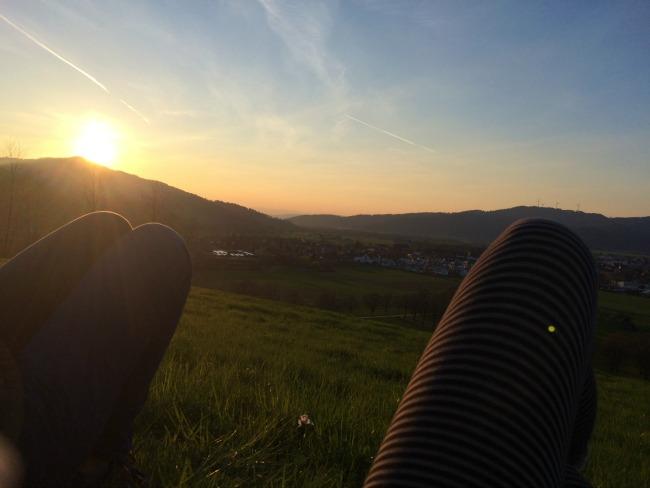 Kirchzarten's peaceful countryside