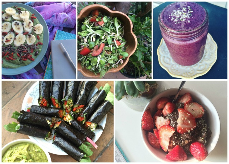 My raw vegan diet change