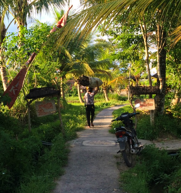 Backpacking in Bali