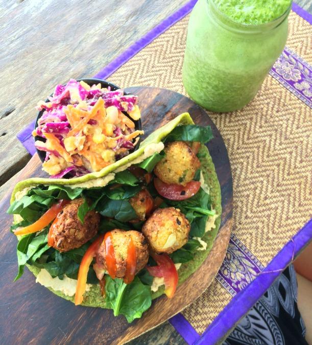 Grain-free falafel in Cambodia