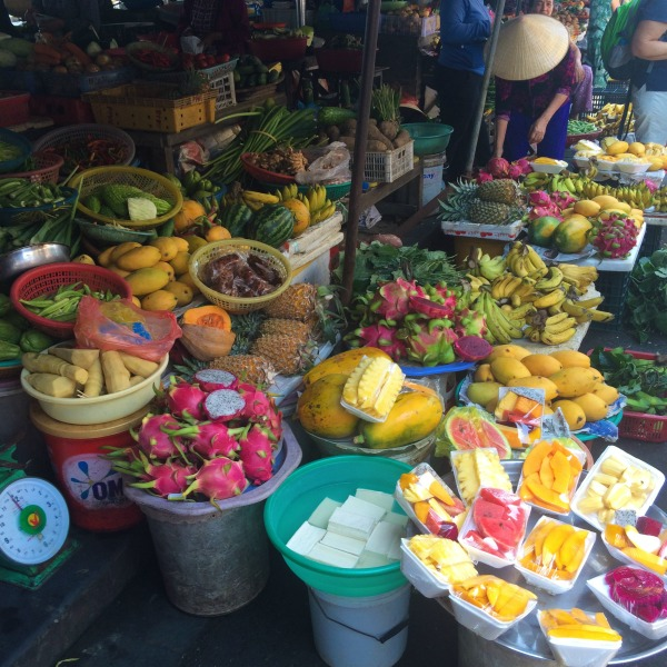The fruit markets of Vietnam