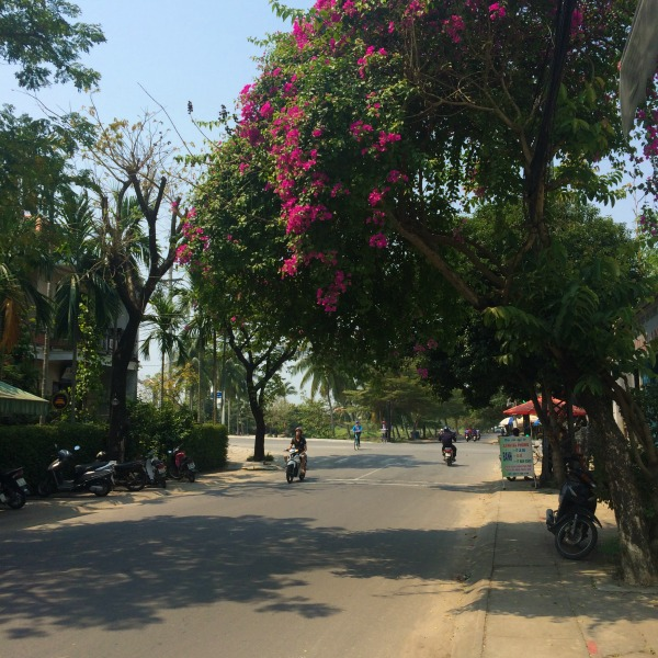 Bike riding and backpacking in Hoi An