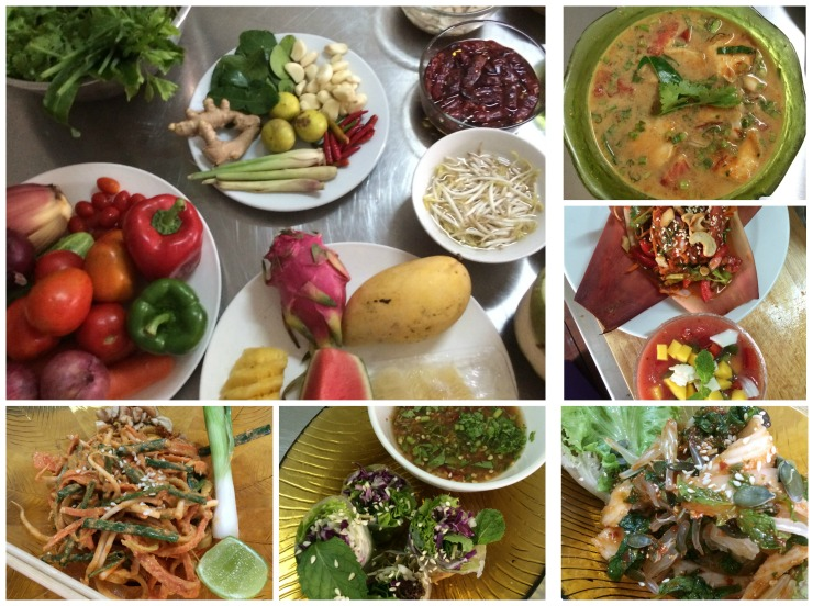 Raw vegan cooking classes in Thailand